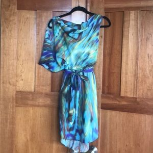 Jessica Simpson watercolor dress